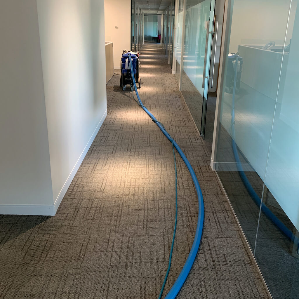 Commercial cleaning in office space around leeds